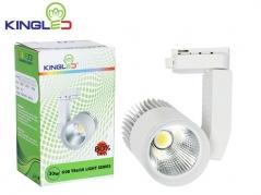 Đèn LED rọi ray 30W COB màu sơn đen, trắng