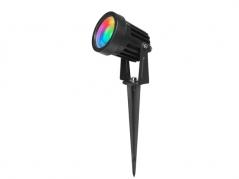 Đèn cắm cỏ 7W đổi màu RGB