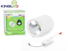 Đèn ống bơ LED 7W chiếu rọi (vỏ trắng)