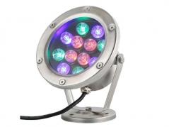 Đèn LED âm nước 12W RGB