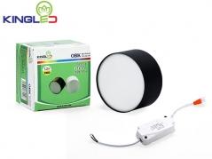 Đèn ống bơ LED 12W tán quang (vỏ đen)