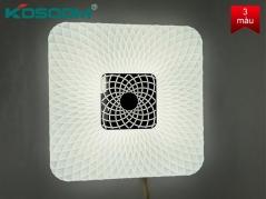 Đèn LED ốp trần trang trí SUNNY 36W viền vuông