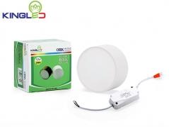 Đèn ống bơ LED 12W tán quang (vỏ trắng)