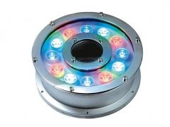 Đèn LED âm nước bánh xe 12W RGB