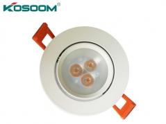Đèn LED âm trần mắt ếch 3W chiếu rọi