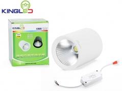 Đèn ống bơ LED 15W chiếu rọi (vỏ trắng)