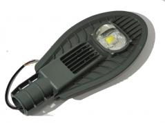 Đèn đường LED 50W chống nước, hình chiếc lá