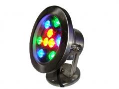 Đèn âm nước 9W đế kim loại