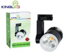 Đèn LED rọi ray 20W COB màu sơn đen, trắng