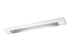 Máng đèn LED T8 có chụp, lắp 1 bóng 0.6m