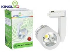 Đèn LED rọi ray 15W COB màu sơn đen, trắng
