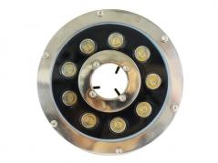 Đèn dưới nước 24V 9W GSBX9 3000K/RGB
