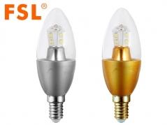 Bóng đèn nến LED 5W C38GJ