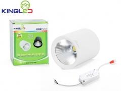 Đèn ống bơ LED 18W chiếu rọi (vỏ trắng)
