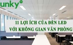 [Chiếu sáng văn phòng] 11 lợi ích của đèn led với không gian văn phòng