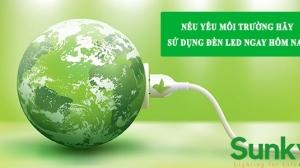 Nếu yêu môi trường hãy sử dụng đèn led ngay hôm nay