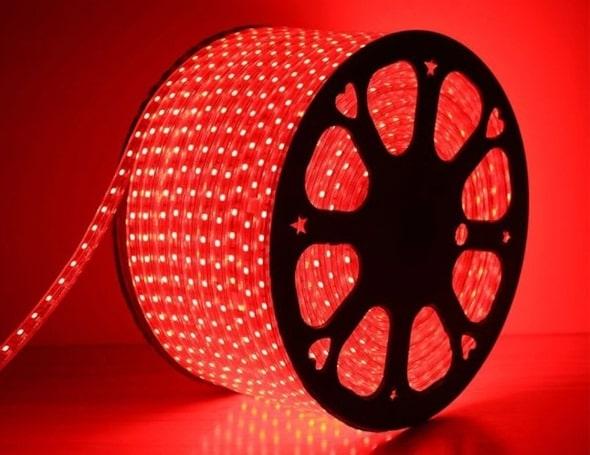 Cuộn 100m dây led màu đỏ và đa sắc chip 3014 (16.150đ/m)