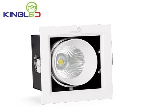 Đèn âm trần hộp vuông 10w GL Series