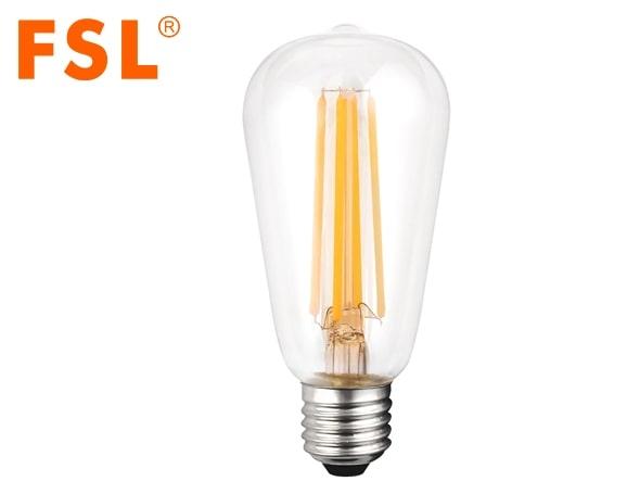 Bóng đèn LED dây tóc 2W ST56FC