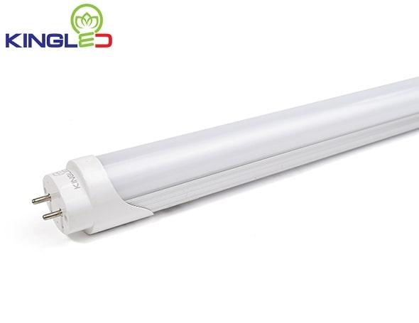 Đèn tuýp LED T8 18W 1.2m nhôm, mika
