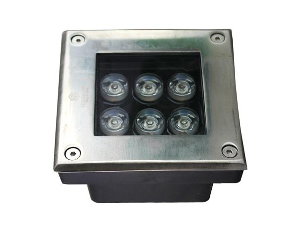Đèn âm đất vuông 6W GSDV6
